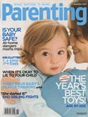 Parenting magazine cover
